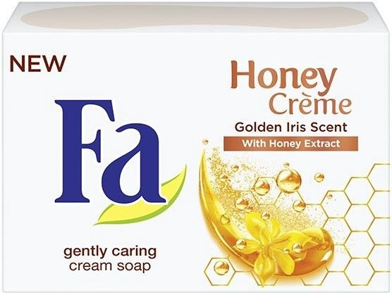 Fa Honey Creme Bar Soap 90g