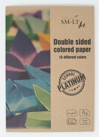 SMLT Double Sided Colored Paper A4 16 Colors