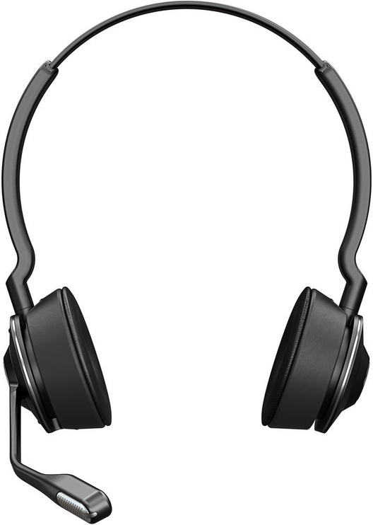 Austiņas Jabra Engage 65 Stereo Black, bezvadu