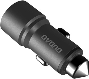 Dudao R5 Dual USB Car Charger Grey