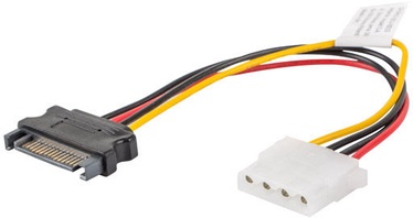 Lanberg 1 x SATA Male to 1 x MOLEX Male CA-SAHD-10CU-0015