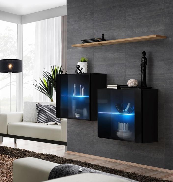 ASM Switch SB III Hanging Cabinet/Shelf Set Black/Wotan