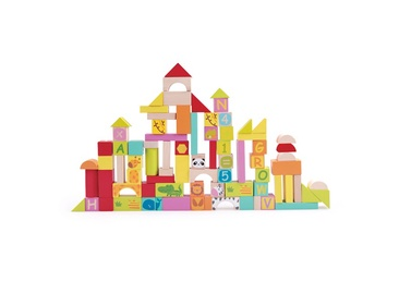 SN Wooden Blocks 100pcs 3556