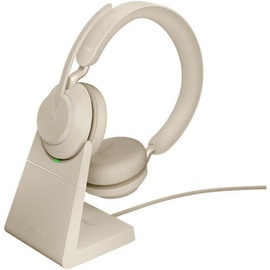 Беспроводные наушники Jabra Evolve2 65 Link380a MS Stereo Beige