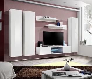 Dzīvojamās istabas mēbeļu komplekts ASM Fly P1 White