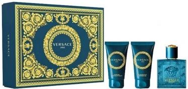 Komplekts vīriešiem Versace Eros 3pcs Set 150 ml EDT
