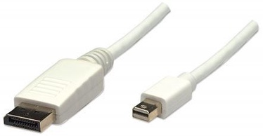 Manhattan Monitor Cable Mini Displayport to Displayport White 1m