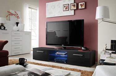 ТВ стол ASM Bono III, черный, 1800x450x350 мм