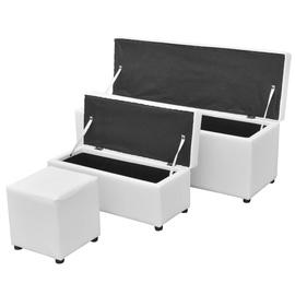 Sols VLX 3 Piece Storage Set 241107, balta, 3800 mm x 11500 mm x 4400 mm