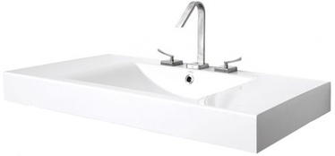 Paa Long Step 1000x490mm Washbasin White