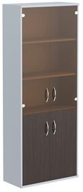 Skyland Imago Office Cabinet CT-1.2 Wenge Magic/Metallic