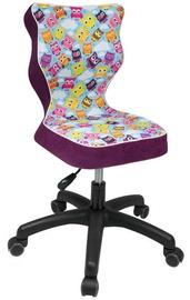 Детский стул Entelo ST32 Black/Violet, 370x350x830 мм