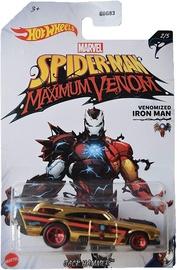Детская машинка Hot Wheels Spider-Man Maximum Venom Venomized Iron Man