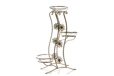 SN Flower Stand Brown 10-0799