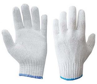 DD Gloves Knitted White