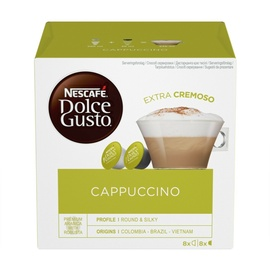 Kafijas kapsulas Nescafe Dolce Gusto Cappuccino, 186 g., 16 gab.