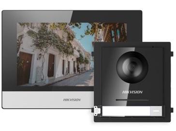 Видеодомофон Hikvision Video Intercom KIT DS-KIS602, черный