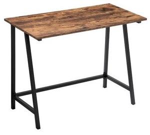 Письменный стол Songmics Vasagle Alinru ULWD40X, коричневый/черный