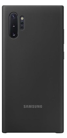 Samsung Silicone Back Case For Samsung Galaxy Note 10 Plus Black
