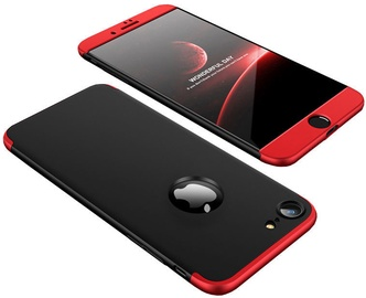 Hurtel 360 Protection Full Body Cover For Apple iPhone 7/8 Black/Red
