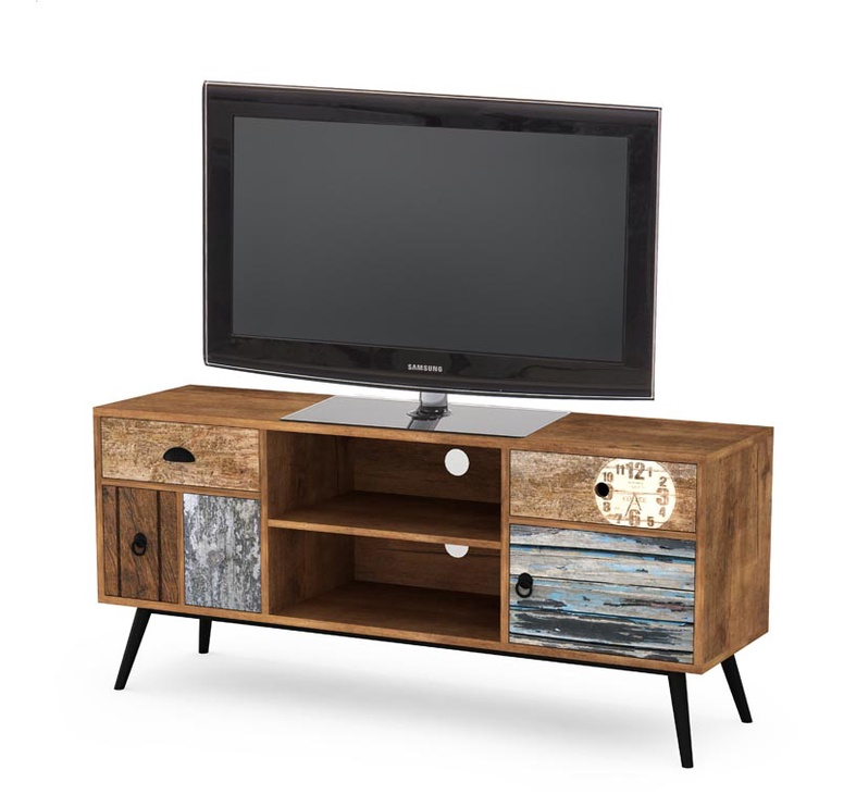 TV galds Halmar Mezo RTV1 Multicolored, 1200x390x600 mm
