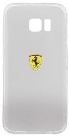 Ferrari Racing Back Case For Samsung Galaxy S7 Edge Transparent