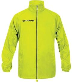 Givova Basico Rain Jacket Yellow Fluo S