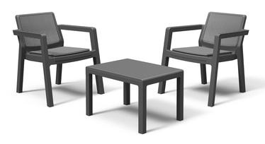 Āra mēbeļu komplekts Keter Emily, pelēks, 2 sēdvietas
