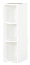 Bodzio Sandi Shelf 20x72x29cm Polished White