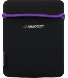 Esperanza ET173V Sleeve For Tablets 10.1'' Black/Violet