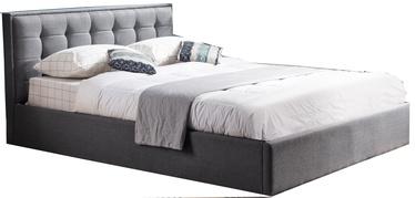 Кровать Halmar Padva Grey, 160 x 200 cm