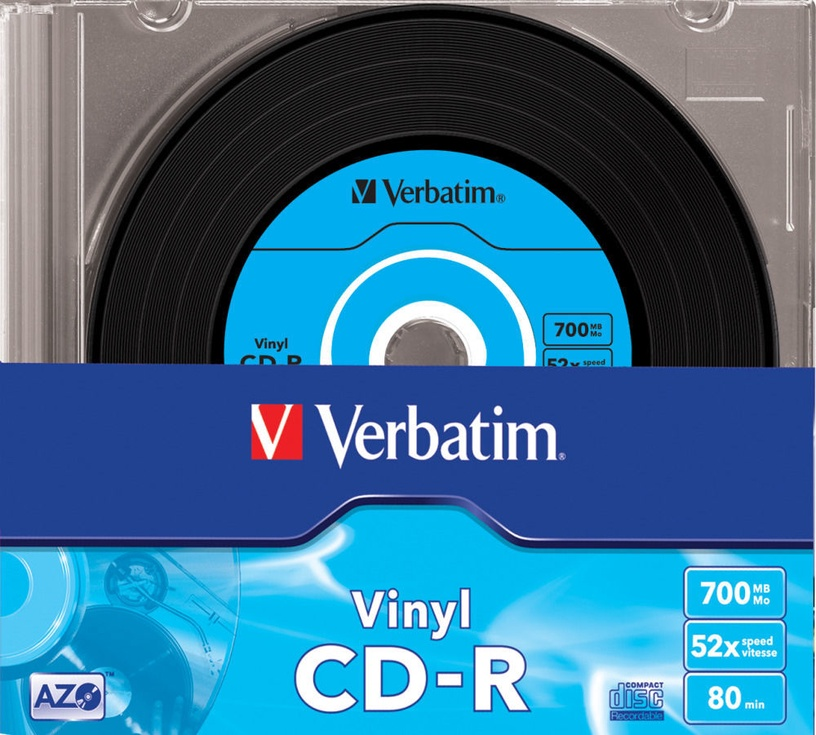 Verbatim 700MB 10pcs Data Vinyl