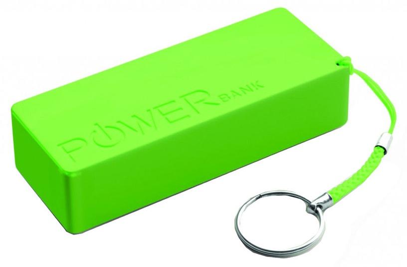 Ārējs akumulators Esperanza Quark XL Green, 5000 mAh