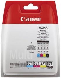 Printera kasetne Canon CLI-571 Cartridge Multipack Black Cyan Magenta Yellow