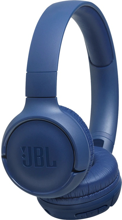 JBL Tune 500BT Bluetooth On-Ear Headphones Blue