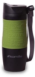Kamille Vacuum Mug 380ml Green KM2052A