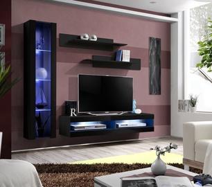 Dzīvojamās istabas mēbeļu komplekts ASM Fly R5 Black