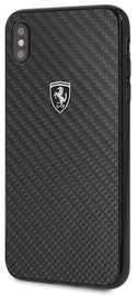 Ferrari Carbon Heritage Back Case For Apple iPhone XS Max Black