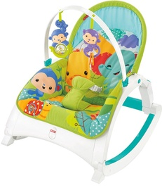 Fisher Price Rainforest Friends Newborn To Toddler Portable Rocker CMR10