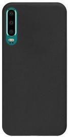 Mocco Ultra Slim Soft Matte Back Case For Huawei P30 Black