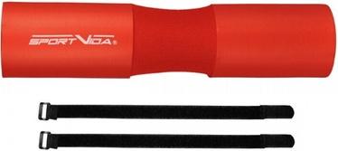 SportVida NBR Pro Universal Neck & Shoulder Protection Red