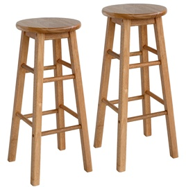 Барный стул Home4you Promo Brown, 2 шт.