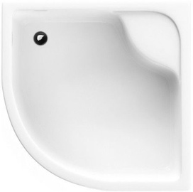 Schaedler Standard L Shower Tray 80x28/41x80 White