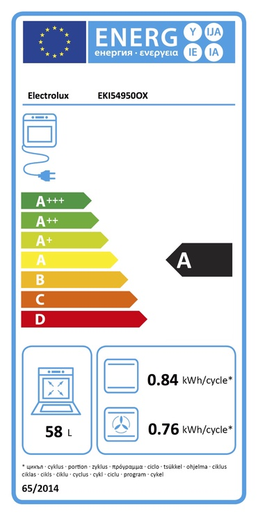 PLĪTS EKI54950OX (ELECTROLUX)