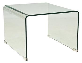 Kafijas galdiņš Signal Meble Priam B Glass, 580x490x380 mm