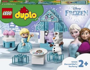 Konstruktors LEGO Duplo Elzas un Olafa tējas dzeršanas ballīte 10920, 17 gab.