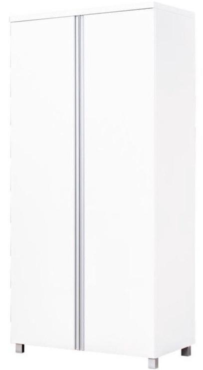 Skapis Bodzio AG10 White, 90x50x190 cm