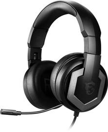 Austiņas MSI Immerse GH61 Over-Ear Gaming Black