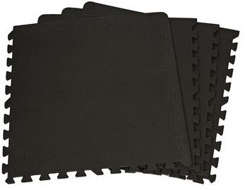 Grīdas segums trenažieriem Enero Puzzle Mat Black 10mm 4pcs