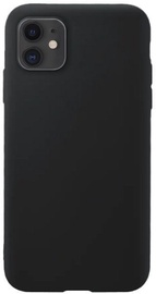 Hurtel Soft Flexible Rubber Back Case For Apple iPhone 11 Black